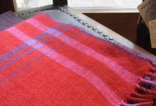 カシミヤ手織りマフラー