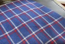 カシミヤ手織りカフラー