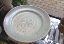 灰釉 とり皿